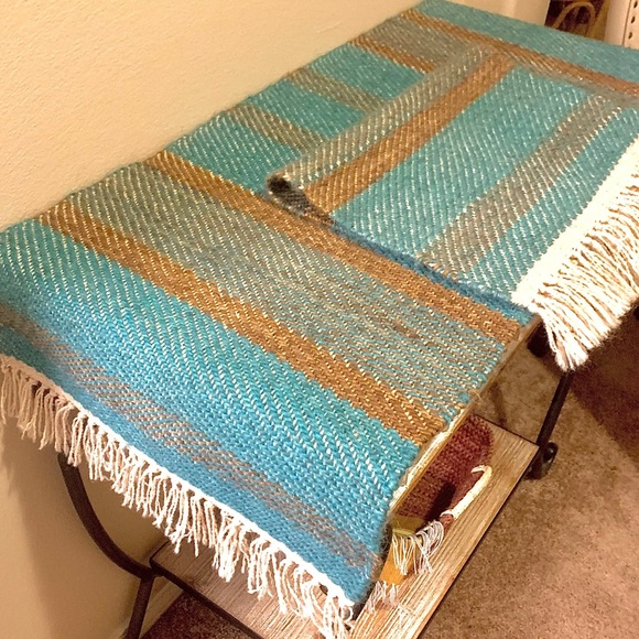 Set of 2 Native American Rugs/Table Runner